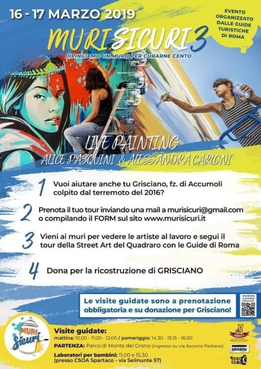 locandina muri sicuri 3^ edizione 16_17 marzo