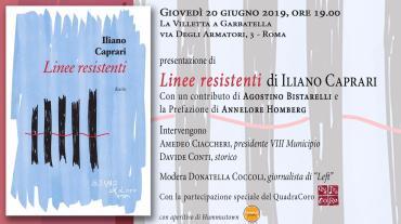 locandina LINEE RESISTENTI 20 giugno 2019